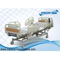 3 Function Folding Semi Fowler Medical Bed , Ward / ICU Bed For Patient