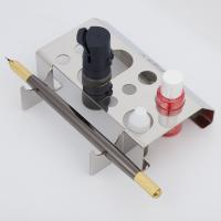 China Stainless Steel Permanent Makeup Ink Cup Holder / Tattoo Pen Holder wholesale