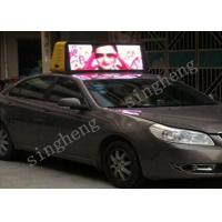China High Definition Taxi Top LED Display P4 Epistar LED Chip HS Code 8528591090 wholesale