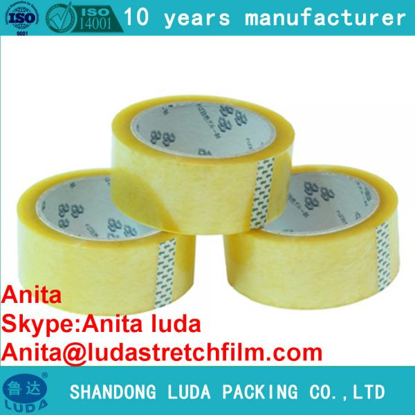 Quality Luda bopp adhesive tape jumbo roll hs code for sale
