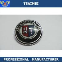 China ALPIN Best Chrome Car Badge Logos With Glass Cement Surface wholesale