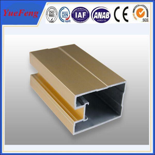 Quality aluminium louver door frame, aluminium sliding windows frame extrusion profiles for sale