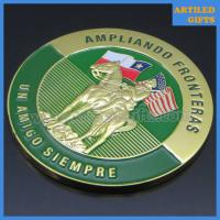 China Ampliando Fronteras Un Amigo Siempre Washington D.C. Carabineros de Chile gold coins wholesale