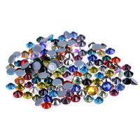 China Ss4 / Ss6 MC Glass Rhinestones , Flat Back Glass Crystals Eco - Friendly wholesale