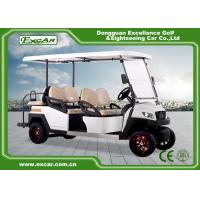 China 48V EXCAR 4 Wheel 6 Seat  Electric Golf Carts With CE Certificated golf buggy car on sale