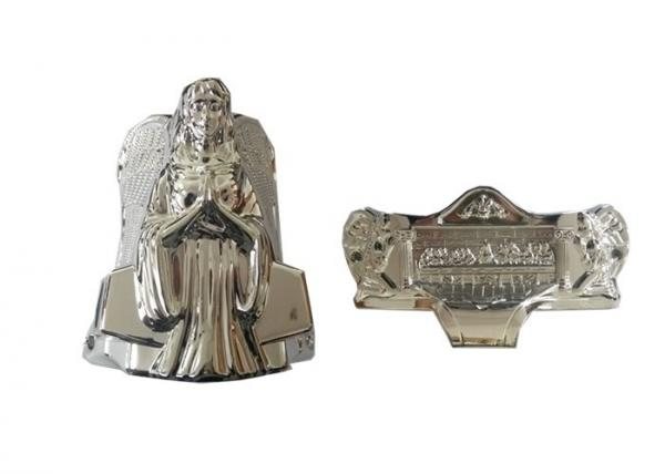 Quality Silver Angel Coffin Parts Hardware Corner Decoration Plastic Material Matching Casket for sale