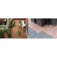 China Easy install DIY wpc decking wpc diy decking tiles for balcony wpc board on sale