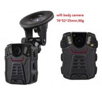 Buy cheap Portable WIFI Police Worn Cameras Waterproof IP66 With 2 Inch Screen from wholesalers