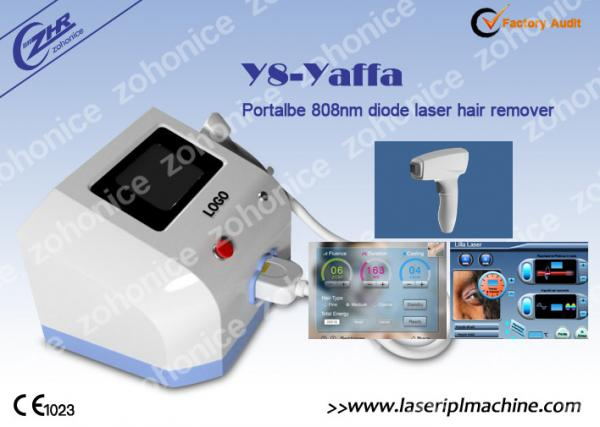 Safe diode laser hair removal machine portable sapphire contact