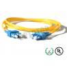 China el cordón de remiendo de la fibra óptica del solo modo de los 2.5m 2m m para LANs/las telecomunicaciones, ALCANZA EL SC mencionado wholesale