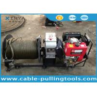 China 3 Ton Fast Speed Diesel Engine Cable Pulling and Hoisting Winch Machine wholesale