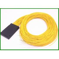 Buy cheap 1*64 fiber optic plc splitter  2mm cable in 120*80*18mm box for FTTX project from wholesalers