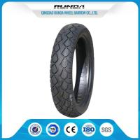 China TR13 Valve Motor Cycle Tires , Rear Motorcycle Tire110/90-16 Good Traction wholesale