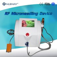 China Nubway Scar Removal Skin Tightening Fractional RF Micro Needle Machine wholesale