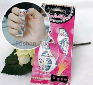 China full cover nail sticker /nail wraps wholesale