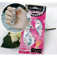 China full cover nail sticker /nail wraps wholesale