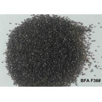 China Brown Aluminum Oxide Blasting Media Non Ferrous Contamination BFA F12# - F220# For Sandblasting wholesale
