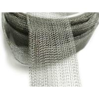 China 304 Stainless Steel Knitted Wire Meshl Gas Liquid Filter Woven Knitted Twill Weave on sale