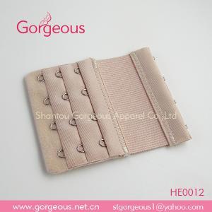 China 4 hooks elastic bra extender for fatter ladies on sale