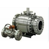 China Forged Steel Cast Steel Ball Valve , Trunnion Mounted Ball Valve wholesale
