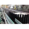 China 380V Electric Juice Packaging Equipment Neck Tilting Sterilizing Conveyor wholesale