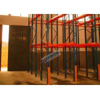 Customized Warehouse Storage Racks Drive In Pallet Racking Q235B Steel Material