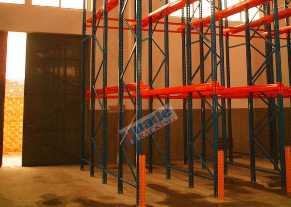 Quality Customized Warehouse Storage Racks Drive In Pallet Racking Q235B Steel Material for sale