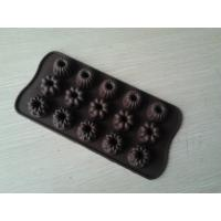 China 15 Holes Eco Mini Bundt Silicone Candy Chocolate Molds With Durable Novelty wholesale