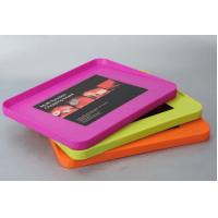 Buy cheap LFGB Multifunction PP Plastic Chopping Board Pink Orange For Kitchen from wholesalers