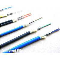 Quality Armored Multimode Indoor Outdoor Fiber Optic Cable Simplex / Duplex For FTTH for sale