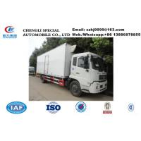 China whole sale best price dongfeng tianjin 4*2 LHD 15tons cold room truck, HOT SALE! bottom price dongfeng cold room truck wholesale