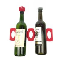 China Tabletop Creative Fridge Wine Bottle Rack Non Toxic And Eco - Friendly on sale