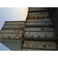 China Used Stainless Steel Reefers For Sale High Cube Shipping Container Sizes 13.11m Length on sale