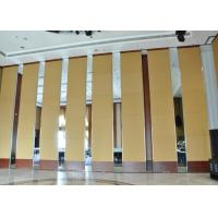 China Office Hanging Sliding Door  , Sliding Folding Doors , 85mm Melamine Partition Wall wholesale