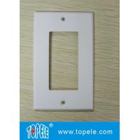 Buy cheap Un receptáculos decorativos plásticos Wallplate del duplex GFCI de la cuadrilla de /Two de la cuadrilla from wholesalers