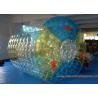 China Customized TPU Amazing Inflatable Water Roller Amusement Park Ball wholesale