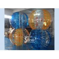 China Colorful kids N adults interaction inflatable bubble ball with quality harness from Sino inflatables on sale