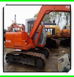 China 1995 ex160  hitachi used excavator for sale 07m3  track excavator isuzu engine minit excavator wholesale