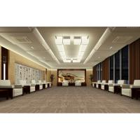 China Meeting Room Office Carpet Flooring , Woven Office Floor Carpet Tiles wholesale