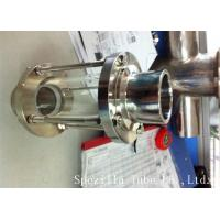 China ASTM A270 Sanitary Stainless Steel 304 Fittings Sight Glass For Chemical Industries wholesale