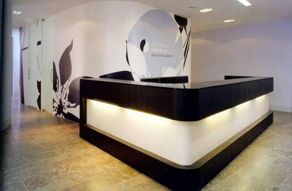 Salon Reception Desk Images