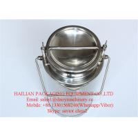 China Liquid Stainless Steel Milk Cans For Sale , Milk Bucket Wine Can wholesale