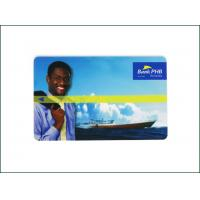 China Programmable Bank Custom Magnetic Stripe Gift Cards 85.5*54*0.84mm Size Easy To Carry on sale