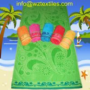 China 10% Cotton Beach Towels wholesale