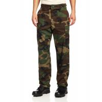 China Comfortable Military Cargo Pants Polyester Cotton Wrinkle Resistant on sale