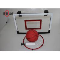 China Durable Mini Basketball Hoop Customized Size 8 Loopnet For Kids / Adults wholesale