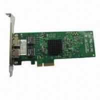 China Network Card, BCM5709C Dual-port 10/100/1000Base-T TOE PCI Express Ethernet Controller wholesale