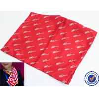 China Soft Polyester printed silk scarves , striped or chiffon hair scarves shawls wholesale