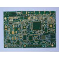 China custom 9 OZ IPC 6012 V-Groove GERBER FR-1 2 layer Gold finger pcb board for electronics wholesale