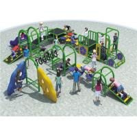 High Capacity Steel Playground Equipment Customized Color Meet The Childrens for sale